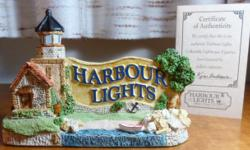 "Harbour Lights described this piece as follows: "" Harbour Lights is proud to have created this unique lighthouse figurine especially for our collectors. Legacy Light depicts a small, antiquated lighthouse, still in service, but showing its age. This"
