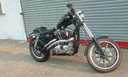1988 sportster chopper 883cc many new parts, bike was built in 2010 in storage has less than 1000 miles since being built nice bike runs good