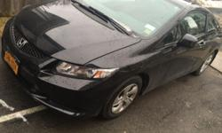 very nice car has only 17 k on it ! very nice shiny car 2013 Honda Civic in excellent shape ! The car is brand new and fully loaded (Back-Up camera, Bluetooth, automatic features, 32 mpg) with only 17,000 Miles on it. My wife is having a baby and we need