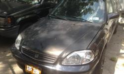 I am selling my Honda Civic LX Year 2000 088852 The car runs good some work on it is necessary The car doesn't shut down but shakes some times. Brakes were recently changed and Fuel bump also. You can test it and see. Price is 1700 negotiable You can