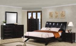 Free shipping within the 5 boroughs of NYC ONLY! All other areas must email or call us for a freight quote. TOLL FREE 1-877-336-1144 www.allfurniture.ecrater.com Item Description With a square block design headboard and footboard, this wood bed is sure to