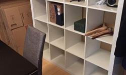 Selling a used IKEA Expedit shelf. Unfortunately, it has some transportation marks. Only for self-pickup in Brooklyn Clinton-Hill. This ad was posted with the eBay Classifieds mobile app.