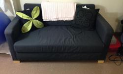 Ikea Solsta Sofa Bed in excellent condition, minimally used. Convenient for a small apartment and converts into a sofa bed.