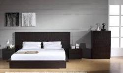 Free shipping within the 5 boroughs of NYC ONLY! All other areas must email or call us for a freight quote. TOLL FREE 1-877-336-1144 www.allfurniture.ecrater.com The Jenny Bedgroup will add a touch of class to any bedroom. It is quality crafted with the