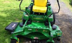 This is a 2011 with 133 hours,60 inch mower deck,hydraulic lift,34hp Kawasaki motor. Runs and works perfect! This is like new & needs nothing! Give me a call (315)564-7671 thank you. This ad was posted with the eBay Classifieds mobile app.