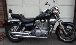 Here for sale is an awesome custom painted 1992 Kawasaki Vulcan 1500. The engine fires right up and runs strong. It is a 4 stroke V-Twin 1500cc. This bike is powerful and not recommended for the novice rider. Transmission is strong and shifts smoothly.