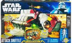 COMPLETE Like new Star Wars Attack of the Clones Republic Gunship with original Box. Too big to ship. Local pickup only.