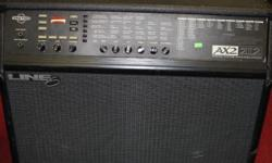 "USA Made, good condition, full working order. This incredibly versatile combo lets you get all the sounds you love from one compact unit. It combines a 100W stereo guitar amp, a full-blown digital effects processor, 2 custom-designed 12"" speakers, and"