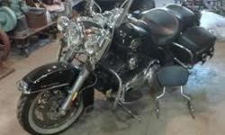 have a 2009 Harley, road kind classic, in excellent shape, low miles 8,600, has many extras, plus all the original parts, garage kept,welcome to come see it. $13500. looking to trade for Rat Rod/Hot rod/classic truck or car of same value. or call and talk