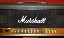 100W of pure, all-tube Marshall sound at a never-before-seen price. Marshall has always sought to provide outstanding tone to guitarists of every budget, and with the new MA Series, all-tube Marshall tone is now more affordable than ever. The MA100H 100W