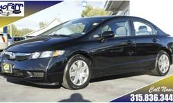 Legendary Honda reliability and quality are yours with this sporty 2010 Civic sedan. This sedan has only one previous owner and a clean Autocheck history report. A highway rating of 36 miles per gallon helps keep things affordable, so stop in today and
