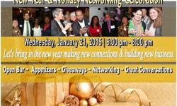 Let?s kick off the New Year at Westchester Networking for Professionals Annual New Year Networking Celebration. For tickets and event information visit: http://www.wnfp.org/ If you?ve never attended our events, this is an event you don?t want to miss.