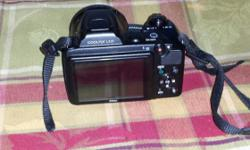 Like new condition 14 megapixels 21 optical digital zoom Native 1080p video 230 dpi lcd screen. Great picture quality Serious only, give me a call 718 504 5547