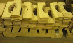 "Oak Molding 18 3/4"" x 5 3/8"" Made by the former Crawford Furniture Company in Jamestown, New York New condition Approximately 300 Oak Molding pieces available $ 10.00 each Call 716-484-4160. Or stop by: 1061 Allen Street Jamestown, NY Monday-Friday 8AM to"