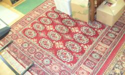 Oriental rug, 6x9, $25. Persian rug, 6x9, $375. . Private party.