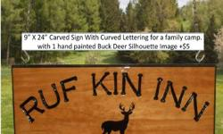 100% Hand-Crafted North Country Gift made locally in S. Jefferson County New York. Your NNY carved wood sign is sure to become a treasured family keepsake for years to come!. Summer special: ~1 FREE hand-painted image with any sign order. Prices start at
