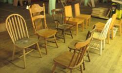 Quality Wood Chairs Variety of styles $ 15.00 each Call 716-484-4160. Or stop by: 1061 Allen Street Jamestown, NY Monday-Friday 8AM to 4PM