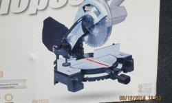 "Rockwell shop series 14 amps 10"" inches compound miter saw model RK 7135 with box. Used only twice for a total less than 1/2 hour. Great saw, works excellent. I do not need it anymore. Great tool to own. Call Val at 585-227-7876 or email me. $ 109 or"