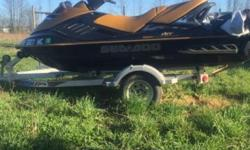 I have an07. 3 seater one owner Sea-Doo with only 80 hours on it this Jetske comes with a cover and a double aluminum triton elite trailer that Jetske was hardly used and very well taken care of it is a 255 horse supercharge if interested call