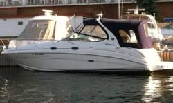 Excellent condition!!! Engine 471-500 HP (8.1L##), Dual prop, less than 400 engine hours, Garmin GPS, depth finder. Fully equipped: heat and air conditioning, sleeps 6, stove, microwave, galley sink, refrigerator, booth seating in cabin, main bed in cabin