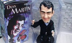 singing dean martin figure,moves around like he is giving you a concert.comes with original box 25.00 cash