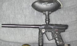 I have a Smart Parts ION paintball marker. Semi, rebound, and fully automatic electronic trigger. It has only had 200 balls put through it. Brand new basically. This was over $250 brand new. I would like to get $200 obo for the marker, gravity fed hopper,