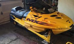 2001 skidoo mxz 440 approximately 3,100 miles 2002 Polaris 550 sport edge with approximately 4,100 This ad was posted with the eBay Classifieds mobile app.
