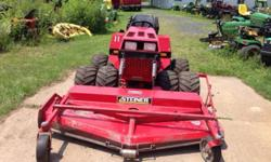 This has a 25hp 3 cyl. Gas kubota motor,72 inch mower deck,power steering,hydro drive,hydraulic lift,4 wheel drive. Runs and works perfect! Give me a call (315)564-7 6 71 thank you. This ad was posted with the eBay Classifieds mobile app.