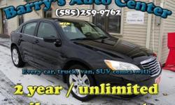 **Get a FREE 2 Year Unlimited Mileage Warranty!!** Don't spend $30,000 on a brand new Chrysler 200!! This one has only 29k miles, its hardly even broken in yet! It has all the power options you want, and its super fuel efficient, for just $189/month! When