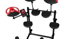 Cheap electronic drum set are getting more popular thanks to its improving features that are closing the divide between electric and acoustic kits in terms of sound, tone, and feel. There was a time when e-drums were a weak attempt to copy the true
