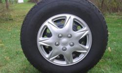 studded snows on 6 lug chevy,, used half a season,, G78 equivalent