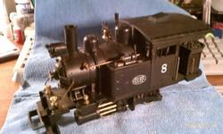TRAINS! very rare HARTLAND G SCALE STEAM LOCO 0-4-0 NYC RR - $150 (Warwick NY NYS Rte 17 exit 126) condition: excellent make / manufacturer: Hartland from Indiana model name / number: 0-4-0 NYC #8 Switcher. size / dimensions: G scale BIG OUTDOOR TRAINS!!