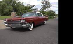 Condition: Used Exterior color: Burgundy Transmission: 3 Speed Automatic Engine: 8 Drivetrain: RWD Vehicle title: Clear Body type: Convertible DESCRIPTION: The first, red Cadillac, is a prime example of a Cadillac. The body is laser straight and paint is