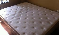 Hi I'm selling a Queen size matress I bought it 6 month ago but I have to move for my job The bed is in mint condition 230 or best offer pick up Today reply to email Text or call : 585 - two - zero- zero 1261