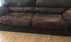 Used Brown Couch. Excellent used condition. Very comfortable.