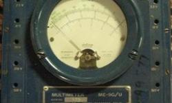 Vintage Multimeter MX-815 Barnett Instrument Company Reasonable price Call 716-484-4160 Or stop by: Atlas Pickers 1061 Allen Street Jamestown, NY Open Monday-Friday 8AM to 4PM