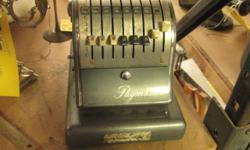 "Vintage Paymaster Check-Writing Machine Sold ""as is"" at a reasonable price. Call 716-484-4160 Or stop by: Atlas Pickers 1061 Allen Street Jamestown, NY Open Monday-Friday 8AM to 4PM"