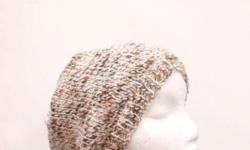 Warm up your day with this cosy warm beanie hat, the colors of this knitted beanie hat is a marble effect of shades of brown,rust,tan. Completely hand knitted. Worn by men and women. The beanie beret is made with a soft acrylic yarn. Very stretchy, will