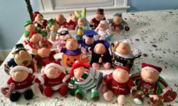 21 Ziggy Dolls by Tom Wilson/American Greetings. All are in excellent condition. They were never played with they were used for display only. Most have original tags still on them. $125 for all or will sell individually for $6 each.